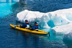Paddle your way through the tranquil waters of the Antarctic with a small group of sea kayakers, no matter your level of fitness.
