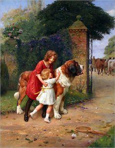 Arthur J. Elsley Paintings | Pinturas de Arthur John Elsley! | Artes & Humor de Mulher