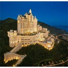 The Castle Hotel in Dalian, China