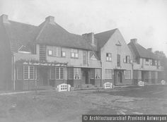 Antwerpen (Deurne), Unitastuinwijk (1923 e.v.). photo credit: Architectuurarchief Provincie Antwerpen, found on the website: http://www.debalansvanbraem.be
