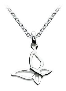 Smaller butterfly in sterling silver from Jewellery Box in Letchworth