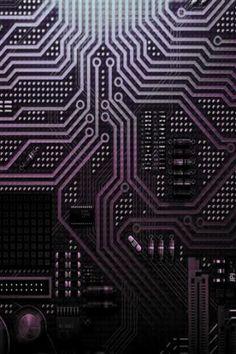 Seamless vector color texture electronic circuit board Stock Vector ...