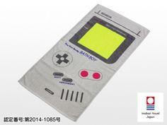 ゲームボーイ バスタオル   レトロGBバスタオル(今治タオル)   テレビゲーム周辺機器のゲームパーツメーカーはコロンバスサークル。