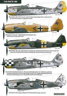 Focke-Wulf FW 190, variants Ww2 Aircraft, Fighter Aircraft, Military Aircraft, Luftwaffe, Focke Wulf 190, Aircraft Painting, War Machine, Machine Guns, Ww2 Planes