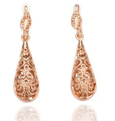Silver/Gold Plated drop Earrings with Australian crystal. Nickle free anti-allergic. Seeking that elegant style and look as you dress for a night out. This wil