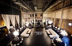 Aria reception downtown Minneapolis #Industrialwedding | Vick Photography