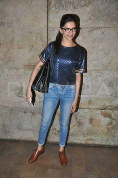 Deepika Padukone at the screening of Queen | PINKVILLA