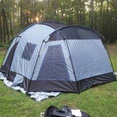 Tahoe Gear Ozark 16-Person 3-Season Tent, Blue