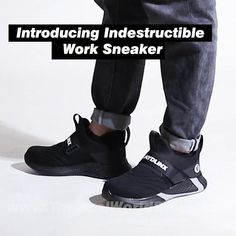 Tactical Shoes, Tactical Clothing, Tactical Wear, Steel Toe Work Shoes, Mens Work Shoes, Work Sneakers, High Top Sneakers, Men's Shoes, Shoe Boots