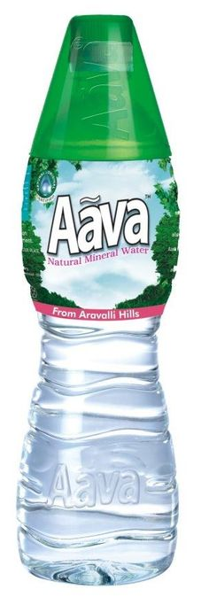 Aava natural mineral water so clear so sacred