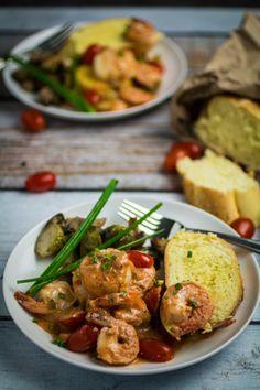 Shrimp and Scallops in Creamy Marinara Sauce | Community Post: 15 Delicious 30-Minute Meals That Aren't Pasta