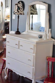Must. Paint. Dressers.