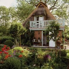 German Country Cottage via House and Home