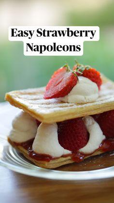 Cute Desserts, Desserts To Make, Summer Desserts, Delicious Desserts, Yummy Food, Fun Baking Recipes, Easy Cookie Recipes, Dessert Recipes, Cooking Recipes