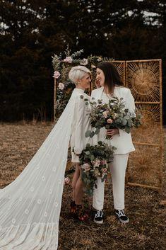 Different Wedding Dresses, Unique Bridesmaid Dresses, Brides And Bridesmaids, Wedding Bells, Our Wedding, Dream Wedding, Wedding Decor, Wedding Stuff, Elopement Dress