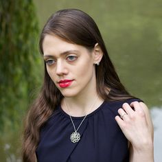 Cupola necklace by Ruth Mary Jewellery - workwear for ambitious women - £122