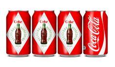Coca-Cola 125th Anniversary cans, 2011.