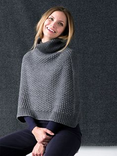 Online yarn store for knitters and crocheters. Designer yarn brands, knitting patterns, notions, knitting needles, and kits. Capelet Knitting Pattern, Knitted Capelet, Knitting Patterns Free, Knit Patterns, Free Knitting, Caplet Pattern, Crochet Capas, Online Yarn Store, Knitting Accessories