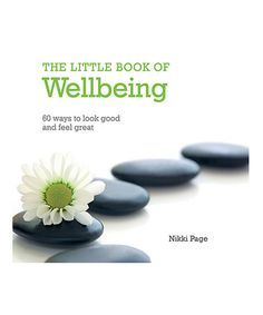 Look what I found on #zulily! The Little Book of Wellbeing Hardcover #zulilyfinds