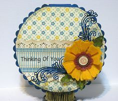 Fun with Felt! Happy Saturday! Jodi back again with another cool tip! #cheeryld #jodibaune Dies used: Stacker Flower 5 - SF-5; Leaf - SF-1; Victorian Romance Flourish - DL151; Anastasia Border - B136; Circle - Scalloped LG Stackers Nesting Dies - XL-5; Circle Classic - Silver Stackers - L-4 http://www.cheerylynndesigns.com