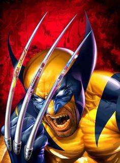 Wolverine ( X-Men ) // Marvel // Art Wolverine Tattoo, Wolverine Claws, Wolverine Art, Deadpool Tattoo, Marvel Comics, Marvel Vs, Marvel Heroes, Comic Book Characters, Marvel Characters