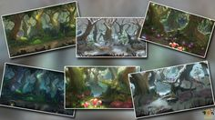 Game Assets Store - Forest Backgrounds for Game Development