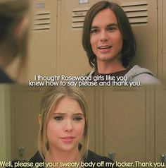 She was hilarious when she hated him