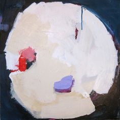 """""""Fourage 4"""" by Claire Desjardins - 24""""x24"""" - Acrylics on canvas. Private collection."""