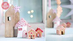 #Advent, #Ideen, #DIY, #Deko, #Weihnachten, #Häuser, #decoration, #christmas