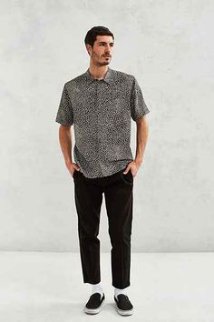 Urban Outfitters Button down shirt; with layering pieces.