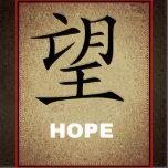 "Chinese Symbol For ""Hope"""