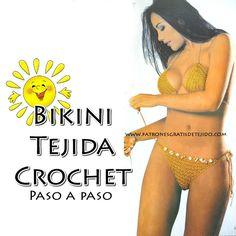 Como tejer bikini crochet paso a paso