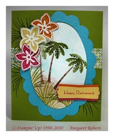Fun Stampin' with Margaret!: Tropical Party & Island Oasis Duo