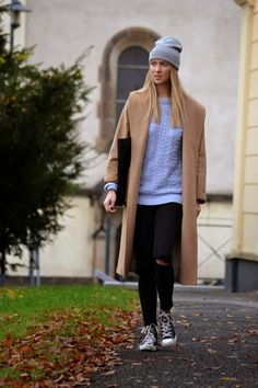 Style of Lucie Redlich: Mango belted coat Belted Coat, Mango, Normcore, Winter, Style, Fashion, Manga, Winter Time, Moda