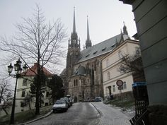 Brno Czech Republic- walked this road.