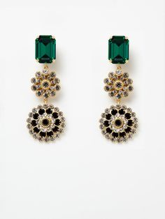 janis savitt drop earrings. perfect for the wedding.