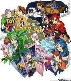 Disney Anime Style