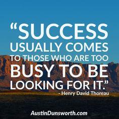 Henry David Thoreau, Coaching, Success, Business, Training, Store, Business Illustration