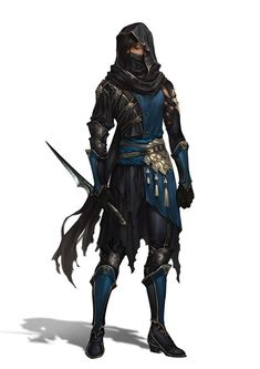 Digital Art | sekigan:   (1) assassin | Character Concepts -...