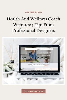 Competition is fierce in the health coaching industry. Learn the secrets to building winning health and wellness coach websites from professional designers. ❤ Health And Wellness Coach Websites: 5 Tips from Professional Designers by Lovely Impact. showit website template, showit website design, wellness coach website, holistic health coach website