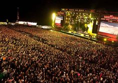 Rock am Ring in Germany. EPIC.