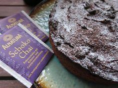 Low Carb Rezepte von Happy Carb: Schoko-Chai-Kuchen - Zu Kuchen gewordener Rotwein mit dem besonderen Chai-Kick.