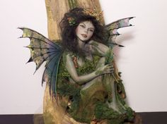 fairy artists gallery | Debbie Richard fairy art painting fantasy