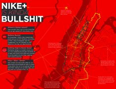 Infographic Of The Day: Nicholas Felton's Students Hack Nike+ Data