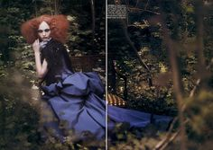 couture memoirs - by paolo roversi