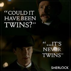 Sherlock: The Abominable Bride twins! Moriarty had a brother #canon