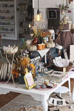 Some of the Fall items in the Lily & Val Flagship Store! Join us for our 1 year anniversary Open House on October 7th!