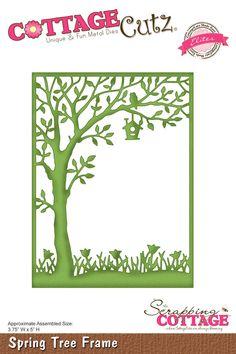 CottageCutz Spring Tree Frame (Elites)