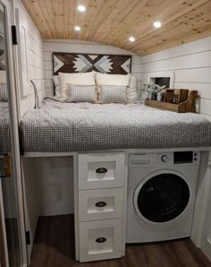 Converted school bus is a cozy tiny home on wheels tinyhome Converted school bus camper is a cozy t&; Converted school bus is a cozy tiny home on wheels tinyhome Converted school bus camper is a cozy t&; Epploreen […] Homes On Wheels kitchen Bus Living, Tiny House Living, Cozy House, Living Rooms, Tiny House Bedroom, Small Living, School Bus Tiny House, Old School Bus, Converted School Bus
