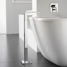 modern architecture - interior view - bathroom - dornbracht - series - lulu - bathtub - bath spout with stand pipe